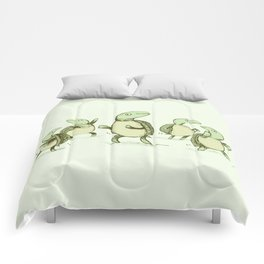 Dancing Turtles Comforters