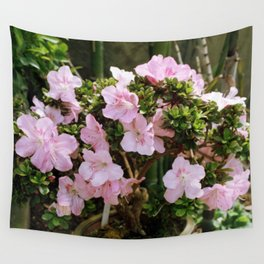 Pink Tree Wall Tapestry