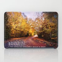 wanderlust iPad Cases featuring wanderlust by Sylvia Cook Photography