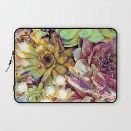 Bright Garden Succulents Laptop Sleeve