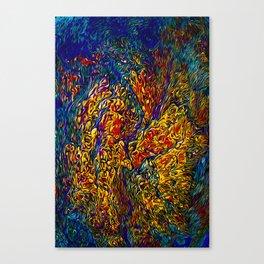 Dragonfire Canvas Print