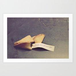 Sweet fortune teller Art Print
