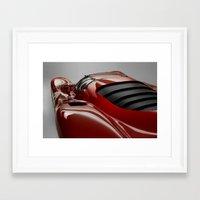 ferrari Framed Art Prints featuring Ferrari by O.K.