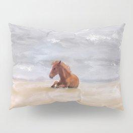 Beach Baby Pillow Sham