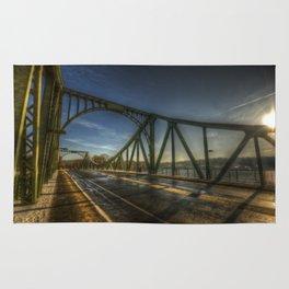 The bridge of spy's.  Rug