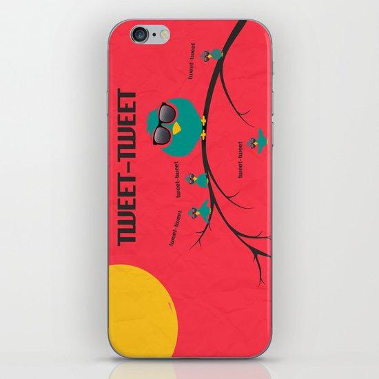 tweet-tweet, TWEET-TWEET iPhone Skin