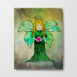 Fairy Princess Metal Print