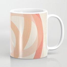 Coral Lines #2 - Abstract Art Print Coffee Mug