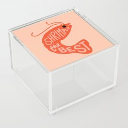 Shrimply the Best Acrylic Box