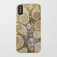 klimt iPhone & iPod Cases featuring klimt by Ju Tiscornia