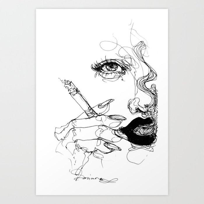 Smoke Kunstdrucke