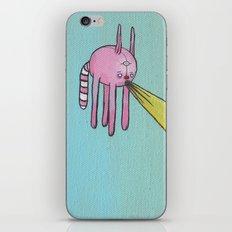 Lazer Cat iPhone & iPod Skin
