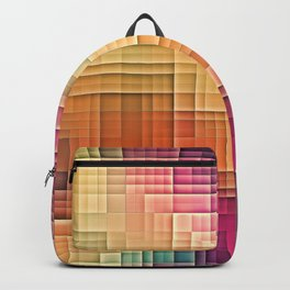 Colored Tetris Backpack