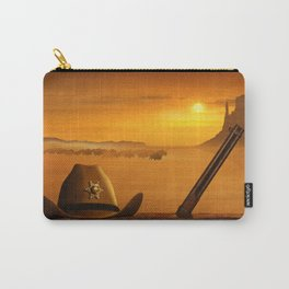 The sheriff is on the road Carry-All Pouch