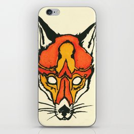 Fox Face iPhone Skin