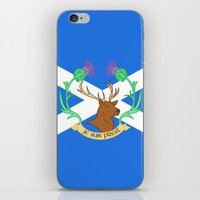 outlander iPhone & iPod Skins featuring Clan Fraser by CaptainSunshine