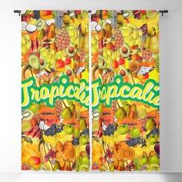 Tropicalia Fruits Blackout Curtain