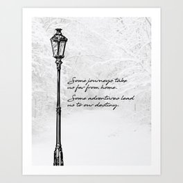 Chronicles of Narnia - Some adventures - CS Lewis Art Print