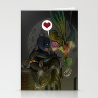 bats Stationery Cards featuring Bats by Kaan Demircelik