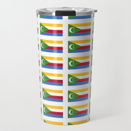 flag of comoros -comores,comorian,comorien,moroni,iles éparses,scattered island,indian ocean Travel Mug