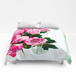 A Splash Of Color Comforters