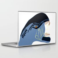 alien Laptop & iPad Skins featuring Alien by Jessica Slater Design & Illustration