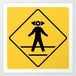 Start Seeing Pedestrians Art Print
