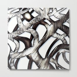 Ornament-ish 2 Metal Print