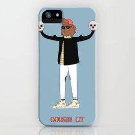 Cousin Lit iPhone Case