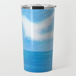White Dove Sky Travel Mug