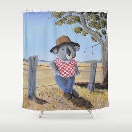 Aussie Koala Shower Curtain