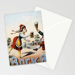 Vintage poster - Bock Beer Stationery Cards