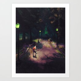 Road to Brill Art Print