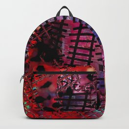 Rails on Red Backpack
