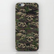 Sloth Camouflage iPhone Skin