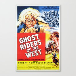 Ghost Riders of The West Canvas Print