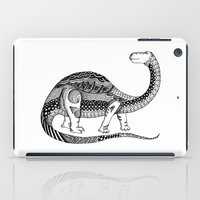 dinosaur iPad Cases featuring Dinosaur by Nicole Whelan