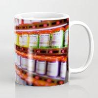 pantone Mugs featuring Pantone Pods by Sookie Endo