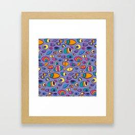 look arround Framed Art Print
