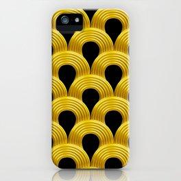 3-D Art Deco Parisian Art Décoratif Pattern iPhone Case