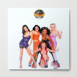 Spice World. Metal Print