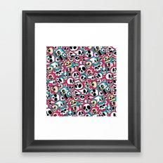 Skullz Framed Art Print
