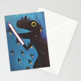 space dino Stationery Cards