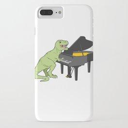 Piano Gift Print Pianist Pianosaurus T Rex Piano Player Tee iPhone Case