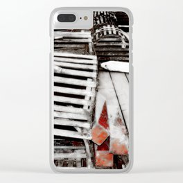 lobster trap photography Clear iPhone Case