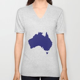 Australia Silhouette Unisex V-Neck
