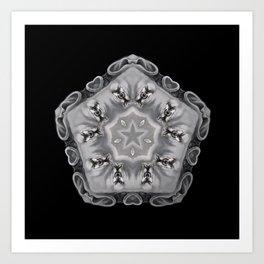 Kaleidoscope W3 Art Print