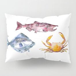 Alaska Marine Life Pillow Sham