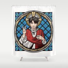 Saint Jeon Shower Curtain