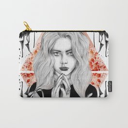 Russian Dark Girl Carry-All Pouch